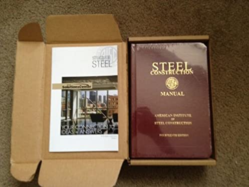 amazon com steel construction manual 14th edition editor books rh amazon com manual for steel construction pdf manual for steelcraft baby capsule