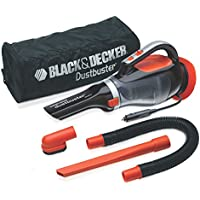 Black & Decker Dustbuster Portable 12V Auto Vacuum in Orange/Black