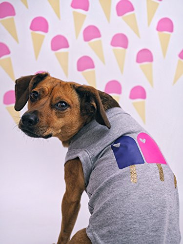 Popsicles Dog Shirt by Pink Papyrus Co.