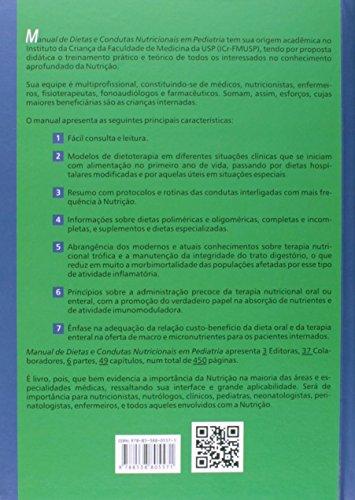 Manual de Dietas e Condutas Nutricionais em Pediatria