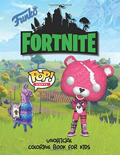 FUNKO FORTNITE Unofficial Coloring Book For Kids: Perfect for preschooler and young children of all ages