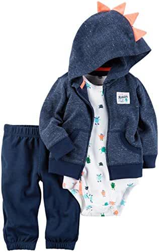 Carter's Baby Boys Cardigan Sets 121h262, Navy, 18 Months Baby
