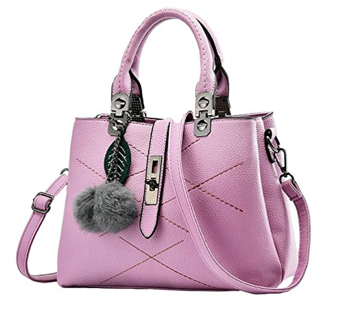 Shoulder Womens Bags Bags Multi Purple Handbags functional Tote Pocket Crossbody Casual YAANCUN wRTdEpxqT