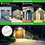 20W Security Lights, CLY PIR Light with Motion Sensor, 1800Lumen 3000K Super Bright IP66 Waterproof Outdoor LED…