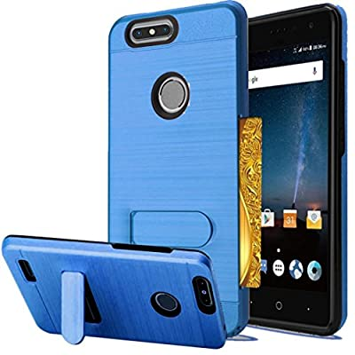 For ZTE Blade Z Max Case Blade Zmax Pro 2 Case, Comfortable Handfeeling, Unpara Excellent Lightweight Hybrid Heavy Duty Protective Case Eco-friendly by GFH