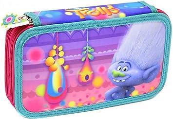 DreamWorks Trolls Estuche 23tlg. 2 Niveles Estuche Relleno: Amazon.es: Juguetes y juegos
