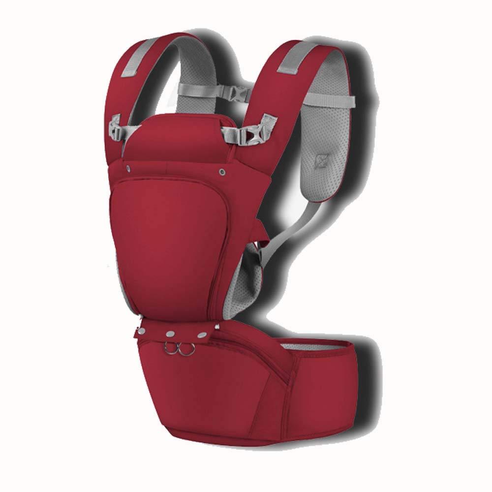 AXIANQI Cinturón de Seguridad Infantil de algodón Multifuncional Grueso y Transpirable 3-36 Meses Rojo y Azul A (Color : Azul)