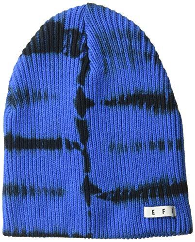 - NEFF Men's Daily roll dye Beanie, Blue/Black One Size