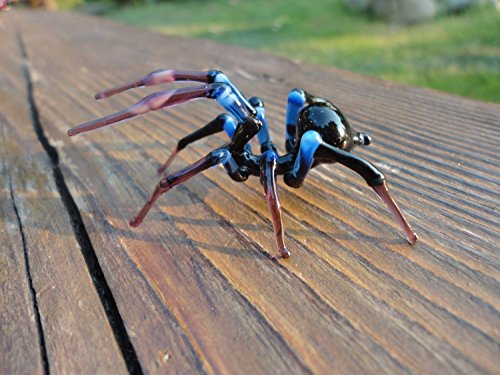 Glass Spider Spider Blown Glass Art Glass Spider