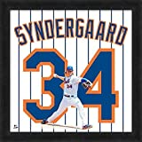 Noah Syndergaard Mets Jersey Uniform 20 x 20 Frame Photo - Licensed MLB Baseball Collectible