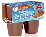 Real Fresh Chocolate Pudding 3.5 oz (48 Count)