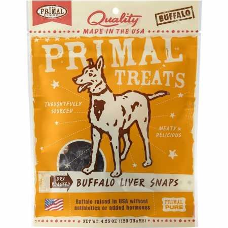 Primal Pet Foods Buffalo Liver Chunks Dog Treat by Primal Pet Foods (Image #1)