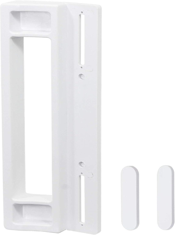 Spares2go–Tirador de puerta para frigorífico congelador Coolzone (190mm, color blanco)