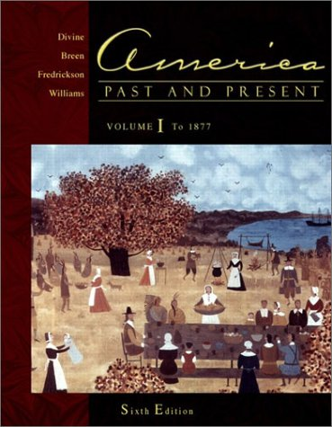 america past and present volume i - 4