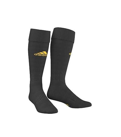 adidas Santos - Medias para hombre, color negro / dorado, talla 33 EU 1