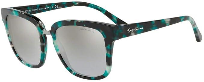 Armani 0AR8106, Gafas de Sol para Mujer, Green Havana, 54 ...