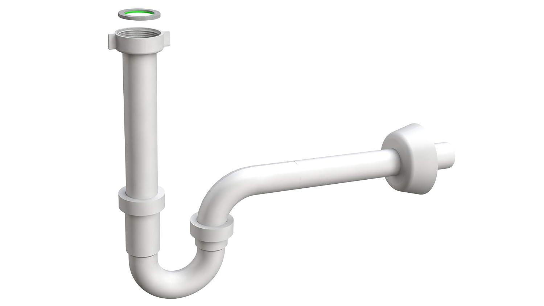 Kunststoff 1 1//4 Zoll Cornat T317406 R/öhren-Geruchsverschluss