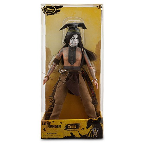 Lone The Ranger Costume Tonto (Tonto Deluxe Action Figure - 12'' - The Lone)