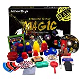 Magic Set Magic Kit for Kids Science Toys for Children Including 25 Classic Tricks Easy to Play Magic Best Gift for Boys Girls and Adult DVD Instruction