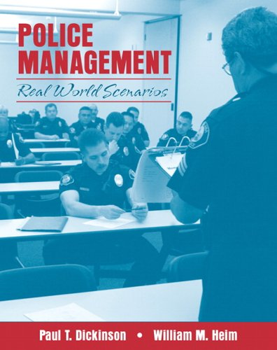 Police Management: Real World Scenarios