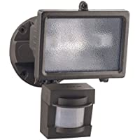 Heath/Zenith HZ-5511-BZ PAR 150-watt 110 Degree Motion Sensing Halogen Security Light, Bronze