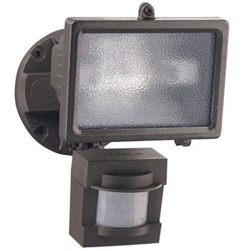 Heath/Zenith HZ-5511-BZ PAR 150-watt 110 Degree Motion Sensing Halogen Security Light, Bronze