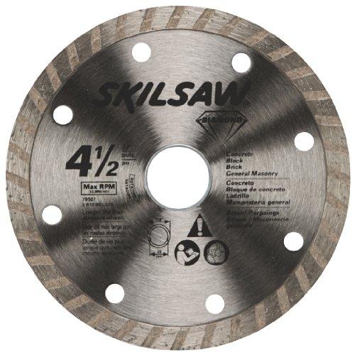 SKIL 79507C 4-1/2-Inch Turbo Rim Diamond Circular Saw Blade (Circular Saw Blade Masonry compare prices)