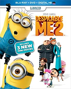 Cover Image for 'Despicable Me 2 (Blu-ray + DVD + Digital HD with UltraViolet)'