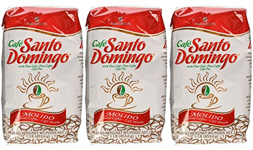Molido Santo Domingo Coffee 3 pack