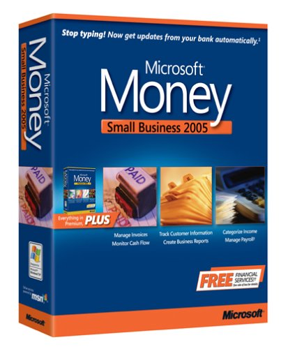 Microsoft Money Small Business 2005 [Old Version]