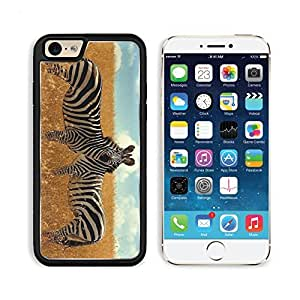 African Animal Grassland Love Mammal Nature Zebras Apple iPhone 6 TPU Snap Cover Premium Aluminium Design Back Plate Case Customized Made to Order Support Ready Liil iPhone_6 Professional Case Touch Accessories Graphic Covers Designed Model Sleeve HD Template Wallpaper Photo Jacket Wifi Luxury Protector Wireless Cellphone Cell Phone