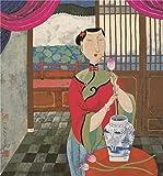Best SunRise Monster High Umbrellas - Oil Painting 'Hu Yongkai,The Fragrance Of Lotus,21th Century Review