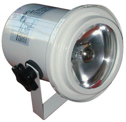 MBT Lighting P100WFUL White Pin Spot Light