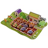 Stereoscopic 3D Happy Farm Paper Puzzle Children's Educational Toys