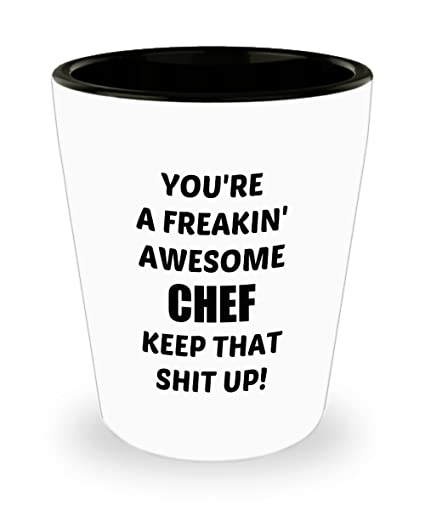 Funny Birthday Gifts For Freakin Awesome Chef Husband Wife Mom Dad Mother Father Son Daughter