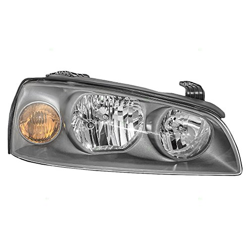 Headlight Headlamp Passenger Replacement for 04-06 Hyundai Elantra 92102-2D550 ()