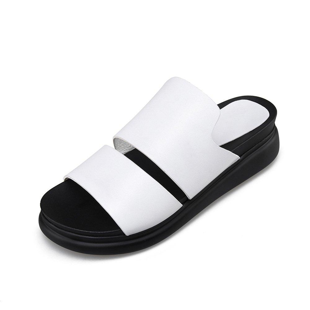 Sandales B012OBQCEK décontractées Blanc pour Femmes, Femmes, Chaussures à Talons, Pantoufles Blanc d23b940 - shopssong.space