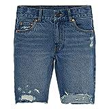 Levi's Toddler Boys' 511 Slim Fit Denim Shorts, Runaway, 3T