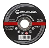 Cutting Disc, Aluminum Freehand Cut-off wheel - 4-1/2'' x 1/16'' x 7/8'' - T41 - (10 PACK)