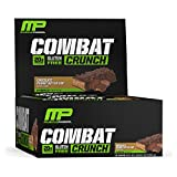 Muscle Pharm Combat Crunch Bars, 7 Different Flavors, 2.22oz.- 12 Count