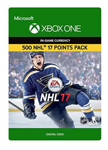 Amazon.com: NHL 17: Ultimate Team NHL Points 1050 - Xbox