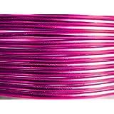 5 Mètres fil aluminium fushia 2mm Oasis ®