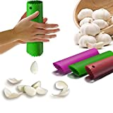 Happy Sales Silicone Garlic Peeler Peeling Press Tube Tool Random Color