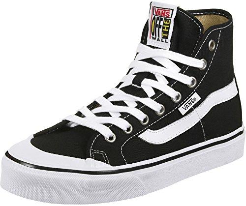 Vans Black Ball Hi Sf (nero) Scarpe Da Skate Uomo Nero Bianco Vero