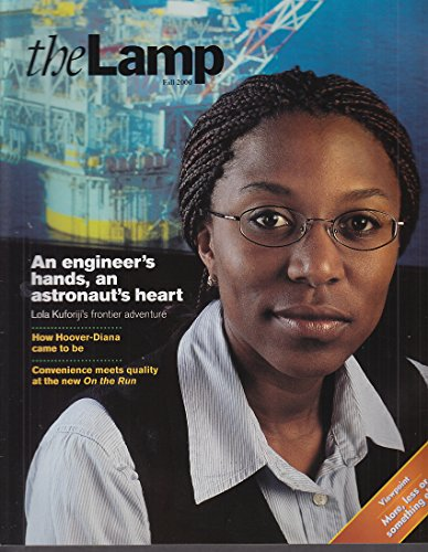 THE LAMP Exxon Mobil Magazine Fall 2000 Engineer Lola Kuforiji & Hoover-Diana - Diana Lamp