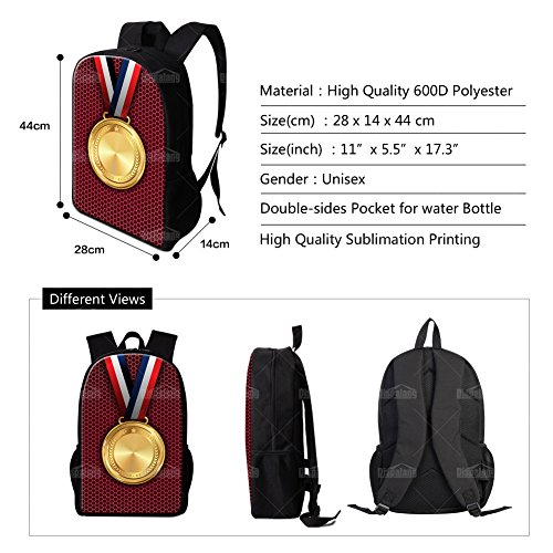 Amazon.com: Dispalang Violin Print Backpack for School Girls Cool Back Pack Art Bookbag Mochilas: Toys & Games