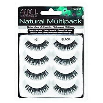 d0f106ff726 Amazon.com : Ardell Multipack 101 Fake Eyelashes (Packaging May Vary) (2- Pack) : Beauty