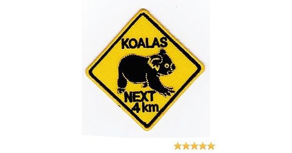 Parche plancha de planchar Iron on patches applikation Kangaroo Australia Australia sol