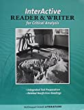 img - for McDougal Littell Literature: Interactive Reader and Writer for Critical Analysis with Added Value Grade 8 book / textbook / text book