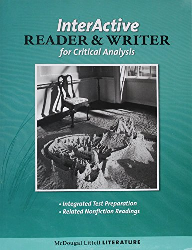 McDougal Littell Literature: Interactive Reader and Writer for Critical Analysis with Added Value Grade 8